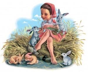 martine et les lapins