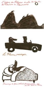 """Quelques images de l'album """"les Rhumes"""" et un lien vers une excellente chronique publiée sur le site de BD du9"""