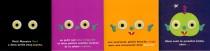 L'utilisation de la matérialité de l'album dans la mise en scène de la construction de l'histoire, la progressivité et la répétition de la structure narrative permettent de rendre évident un processus complexe, celui de la mobilisation des ressources premières de l'enfant par la reconnaissance des contrastes, l'initiation au récit et la construction de l'imaginaire. L'itinéraire de lecture, balisé, permet à l'enfant de comprendre les enchaînements logiques à l'intérieur de l'histoire. La structure narrative iconographique ou textuelle repose ici sur la métamorphose des objets qui s'installe de manière très progressive, de l'apparition à la disparition du petit monstre vert.